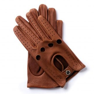 Our Story E ENGELMÜLLER Leather Driving Gloves - Alfa romeo driving gloves